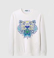 ingrosso jumper hip hop-Abbigliamento da uomo di lusso designer di marca tigre testa ricamo felpa con cappuccio di alta qualità felpa hip-hop felpa con cappuccio da uomo casual maglione invernale