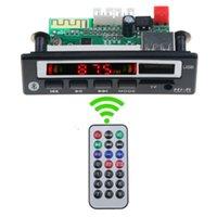 Wholesale mp3 player board module resale online - 2020 Car Audio USB TF FM Radio MP3 Module Wireless Bluetooth5 V MP3 WMA Decoder Board Player with Remote Control For Car