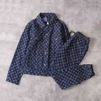os melhores jeans das mulheres venda por atacado-Jaquetas jeans para homens e mulheres 2019 nova marca jaquetas de alta qualidade marca ternos melhor versão jaqueta + calça jaqueta masculina camisola.