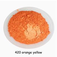 ingrosso giallo pigmento trucco-500g ARANCIO GIALLO Colore Cosmetico Mica Pigmento Polvere di Pigmento per DIY Nail Art Polacco e Trucco Ombretto,