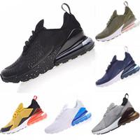 erkekler için sarı rahat ayakkabılar toptan satış-Nike Air Max 270 shoes for men Sneakers Spor Moda Lüks Tasarımcı Rahat Ayakkabılar Eğitmen Hafif Link-Kabartmalı Boyutu 36-45