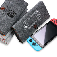 Wholesale game carrying case resale online - For Nin ten do Switch Game Bag Carrying Case protecter shell High Quality Portable Carrying Bag Protective Pouch Bag Switch