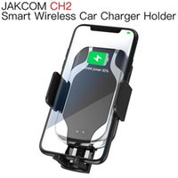 Wholesale telephone phone holder resale online - JAKCOM CH2 Smart Wireless Car Charger Mount Holder Hot Sale in Cell Phone Mounts Holders as support telephone floveme amplifier