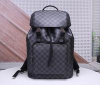 Wholesale men big leather shoulder bag resale online - 2020 Designer Backpack Women Designer Luxury Handbags Purses Leather Handbag Shoulder Bag Big Backpack x30x20CM