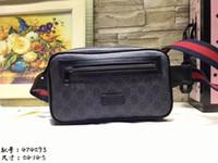 deri bel çantası poşetleri toptan satış-Erkek deri çanta Unisex Bay Bayan deri Spor Koşucu Fanny Paketi Göbek Bel Bum Çanta Spor Koşu Kemer Koşu Kılıfı Geri ızgara