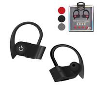 kulaklık kulaklık perakende paketi toptan satış-W1 tws kablosuz kulaklık bluetooth kulaklık spor kulaklık BT4.2 ture mic ve perakende paketi ile stereo kablosuz kulakiçi kulak kancası