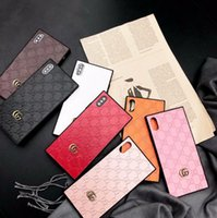 Wholesale iphone6 plus case leather for sale - Luxury brand Case for iPhone X XS MAX XR Case Fashion Brand Back Phone Cover Protection Coque For iphone6 S Plus Shell
