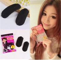 Wholesale hair bump styles resale online - New Volume Hair Base Bump Sponge Styling Insert Up Princess Petit Pin Clip Tool Makeup DIY Increase Fleeciness