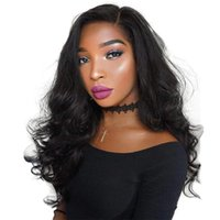 Wholesale indian wave synthetic lace fronts for sale - Group buy Full Lace Human Hair Wigs Cheap Preplucked Virgin Peruvian Hair Glueless Body Wave Lace Front Wig With Baby Hair For Black Women