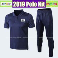 Wholesale man short sleeves sweater for sale - Group buy Survetement OZIL ALEXIS LACAZETTE Soccer Polo Uniforms Kit Short Sleeve AUBAMEYANG Sweater Camisa de Futebol Football shirts