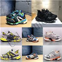 topuk spor ayakkabıları toptan satış-Balenciaga 2019 Yeni kalite Parça 3.0 Tess Paris Gomma Meille sarı düşük topuk 3 M 3 M S spor ayakkabı sneaker tasarımcı ayakkabı