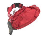 ingrosso sacchetto di vita nera di nylon-Designer Marsupio Nero Rosso 18SS 44th Fashion Unisex Fanny Pack Moda uomo tela Canvas Hip-Hop Borsa da uomo Borsa a tracolla