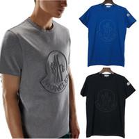 schnelle trockene sportdruckhemden großhandel-Designer-beiläufige T-Shirts der Männer 19SS mehrfacher Schädel-Art- und Weisedrucken Anti-Shrink schnell trocknend Mens Luxury Designer Kleidung Sommer Sport T-shirt