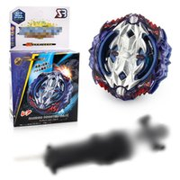 Wholesale fighting tops online - B118 Bleyblade Burst with Arena spinning Top Blade Toys for Children Metal Alloy Fighting Blasting Gyro with Holy Sword Launcher in Box