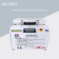 Wholesale iphone lcd refurbished resale online - New version AK PRO oca laminator Vacuum lamination machine repair lcd refurbish machine oca laminator for iphone s6 edge