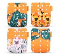 Wholesale Breathable washable diaper pants baby training pants waterproof diaper pocket cloth