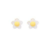 acryl-feen großhandel-Kinder lustige kleine frische Fee Blume Ohrringe weiblichen koreanischen Panyafeng schöne süße klare Acryl Ohr Nägel