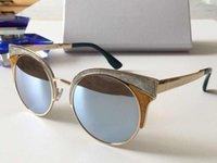 metal çerçeveler takılar toptan satış-Ora bayan lüks güneş gözlüğü metal yarım çerçeve büyüleyici kedi göz gözlük avant-garde tasarım stil en kaliteli uv400 lens koruma gözlük