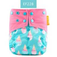 Wholesale diapers owl for sale - Group buy EF228 Reusable Adjustable Baby Cloth Diaper pocket Waterproof Cartoon Owl Baby Diapers Reusable Cloth Nappy Suit years kg