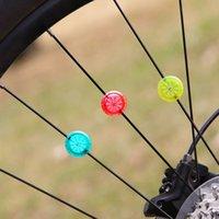 yangın tekerleri toptan satış-Açık Bisiklet Işık Spor Bisiklet Bisiklet Tekerlek Konuşmacı Işık Rüzgar Yangın Tekerlek Serin Bisiklet Aksesuarları # 163934