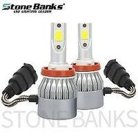 carro de luz baixa venda por atacado-Car LED Farol H8 H9 H11 100W 20000LM lâmpadas 6000K White Light High Low Feixe