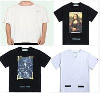 ingrosso nuovi stili per camicia-Maglietta della maglietta degli uomini degli uomini della maglietta della stampa di nuova vendita calda di modo di marca di vendita calda degli uomini 2019 T-shirt 13 di stili S-XL