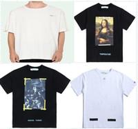 ingrosso magliette a marchio in vendita-Maglietta della maglietta delle donne degli uomini della maglietta della stampa di nuova vendita calda di modo di marca di vendita calda degli uomini 2019 T-shirt 13 stili S-XL