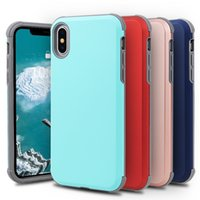 Wholesale iphone protective case for sale - Avant Garde Hybird in Slim ShockProof Case For iPhone x xr Plus Armor Protective cover for samsung s9 s9plus