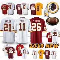 fffaa419b 26 Adrian Peterson Washington Redskins jerseys 11 Alex Smith 21 Sean Taylor  91 Ryan Kerrigan 8 Kirk Cousins 29 Guice 86 Reed jersey