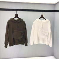 Wholesale pocket stick resale online - Paris brand ss autumn and winter the latest stick pocket high quality luxury sweater men and women with the same paragraph hot