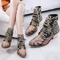 Brodés À Promotion Lacets ChinoisVente Chaussures wPn0OX8k