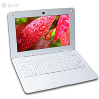 Wholesale pink laptop 8gb for sale - Group buy 10 Inch Quad Core Android Fashion notebook laptop Computer GB Wi fi Mini Netbook Bluetooth RJ45 Tablet Pc Tablets