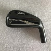 Wholesale branded golf clubs resale online - Brand New A2 Irons Black Golf Forged Irons A2 Golf Clubs Pw R S Steel Shaft With Head Cover