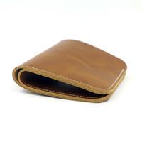 ingrosso fare carte gratuite-La borsa piegante di modo due del pacchetto della carta della borsa della moneta della borsa della moneta della pelle bovina delle donne ha liberato il trasporto