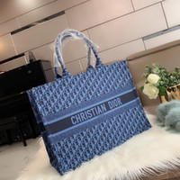 Wholesale colors free wallets resale online - 2020 Fashion new Famous Classical colors Top quality famous women casual tote bag with wallet Free gift