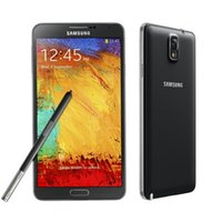 android box 4.4 groihandel-Samsung Galaxy Note 3 N900A Quad Core 3 GB RAM 32 GB ROM 5,7 Zoll Android 4.4 Überholtes Original-Mobiltelefon mit versiegelter Verpackung