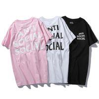 erkekler eşek toptan satış-2019 ilkbahar ve yaz yeni ASS mektup baskı lüks erkek T-shirt erkek tasarımcı T-shirt rahat moda kadın T-shirt