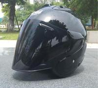 motosiklet kask boyutu s toptan satış-2019 ARAI sıcak kask motosiklet kask yarı açık yüz kros boyutu: M L XL XXL