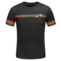 italienische menshemden marken groihandel-8LouisVuittonGucciItalienische Marke Mens luxuryT Shirts der Frauen der Männer beiläufige Art und Weise kleidet T Shirts Top Short Sleeve a43
