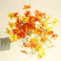 Wholesale cosmos flowers for sale - Group buy Gesang flower head cosmos chrysanthemum artificial flowers home decoration wedding decoration fake flowers