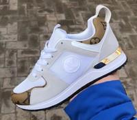 ingrosso mocassini di marca di modo degli uomini-Nuovi Uomini Donne Sneaker Francia Fashion Designer Designer scarpe da passeggio Casual Run Away Scarpe Unisex Zapatillas Run Scarpe Da Ginnastica 36-44 Mocassini