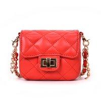 mini weiße farbe handtasche großhandel-BLSX Frauen kleine Kette Umhängetasche Designer Handtaschen hochwertige weibliche Mini rote und weiße Farbe Schulter Crossbody Taschen