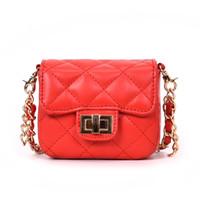 ingrosso borsa di colore bianco mini-Borsa a tracolla BLSX da donna a catena piccola Borse di design Borse a tracolla a spalla mini femminili di alta qualità di colore rosso e bianco