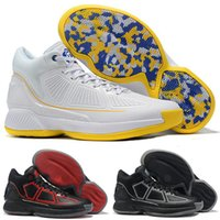 Wholesale bouncing shoes pink for sale - Group buy 2019 D Rose YR White Blue Yellow Black Red Bounce Basketball Shoes High quality Derrick s Mens Sneakers Rose th Size