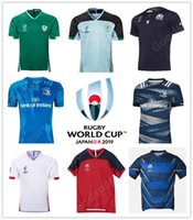 englisches trikot großhandel-2020 World Cup New English Irland Schottland Rugby UK Trikots Shirts Munster BROWN CARE FARRELL FORD HARTLEY LAWES YOUNGS MAY GEORGE 18