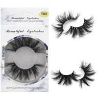 989817d189e 2019 25mm Long 3D Mink Eyelashes 5D Mink Lashes False Eyelash Big Dramatic Mink  Eyelash 100% Cruelty Free Handmade Fake Lashes
