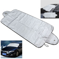 пылезащитный экран оптовых-Prevent Snow Shield Car-Cover Sun Shade Dust Frost Freezing Car Windshield Cover Protect Auto Front Window Screen Cover sunshade
