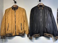 ingrosso giacca pubblicitaria-Giacca firmata da uomo Designer caldo di vendita Cappotto casual Giacche di lusso Poliestere manica lunga Sport Capispalla AD Giacca a vento.A76