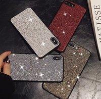 cep telefonları için elmas takıları toptan satış-Lüks elmas taklidi cep telefonu kılıfı telefon için 6 kılıf iphone 7 7 artı 8 8 artı iphone X XS XR XS MAX tasarımcı telefon kılıfı