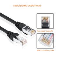 cordons de brassage achat en gros de-Câble Ethernet Câble RJ45 Cat5 UTP Câble RJ45 pour réseau de commutation Commutateur TV Cat6 Compatible Ethernet